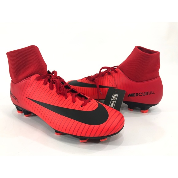 competitive price 87588 0795d Nike Mercurial Victory VI DF FG Cleats 903609-616 NWT